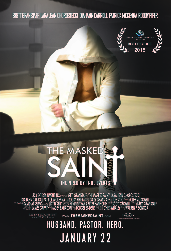The Masked Saint- poster