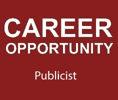 CAREER OPPORTUNITY publicist