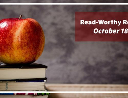 Read-Worthy Reviews – October 18th