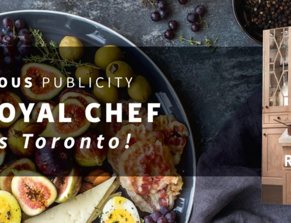 Delicious Publicity – The Royal Chef Visits Toronto!